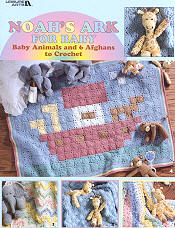 noah's ark crochet afghan leisure arts