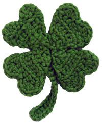 http://www.crochetspot.com/crochet-pattern-four-leaf-clover/