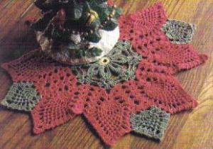 xmas doily winner destash contest 0709