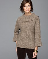 MACY'S COWL NECK SWEATER