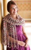 cro tunisian shawl