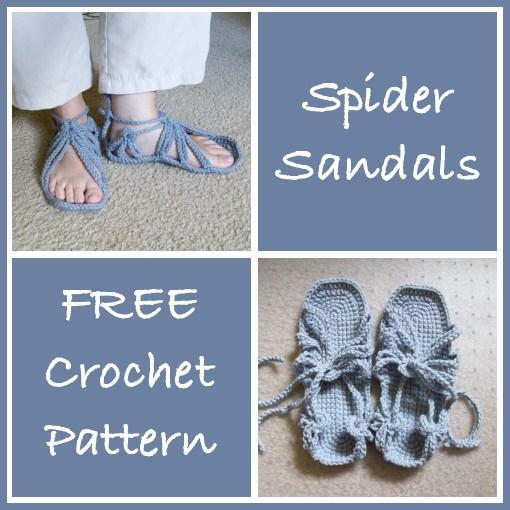 spider-sandals