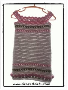 crochet toddler dress