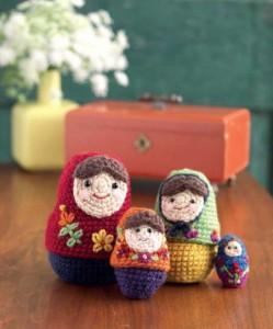 crochet nesting dolls CAL