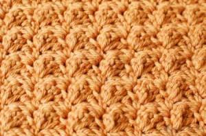 crochet textured dishcloth