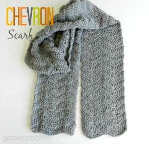 cro chevron scarf 0114