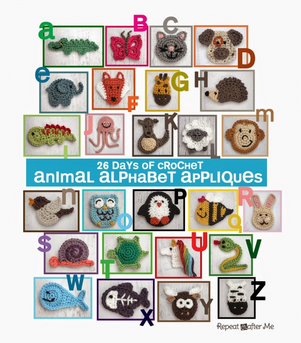 26 Days of Crochet Animals
