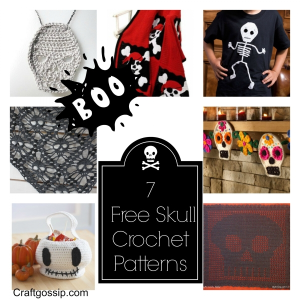 Free Pattern Crochet Skull Round Up Crochet