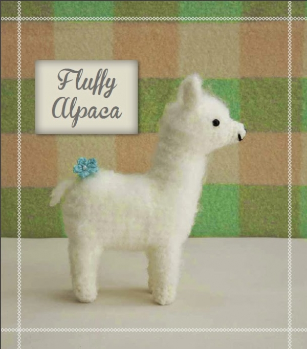 Fluffy Crochet Alpaca Crochet