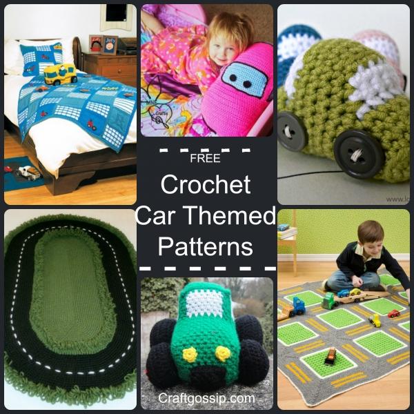 Car Themed Crochet Crochet
