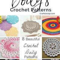 8 Beautiful Crochet Doily Patterns