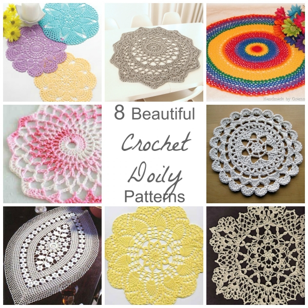8 Beautiful Crochet Doily Patterns – Crochet