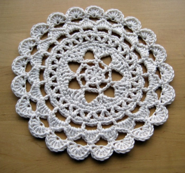 8 Beautiful Crochet Doily Patterns – Crochet