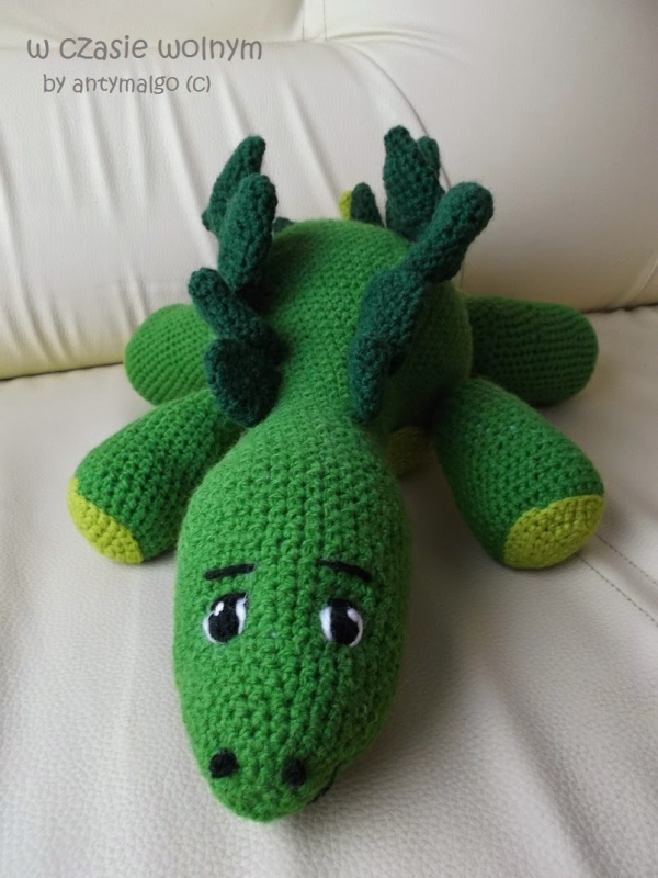 Free Pattern Green Dragon Crochet