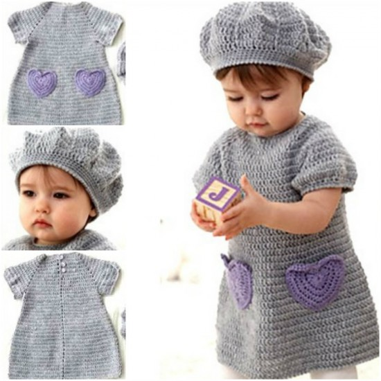 Free Hearts Crochet Dress Pattern Crochet