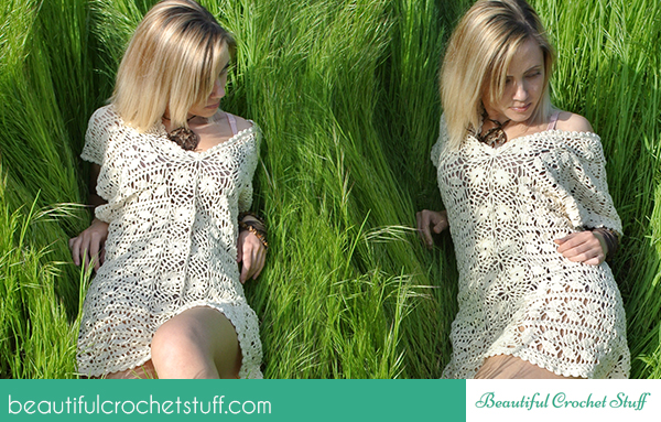 Free Pattern Leaf Tunic Crochet