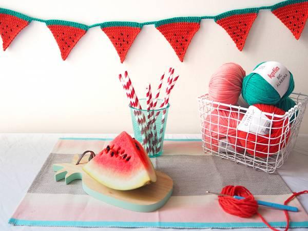 crochet-watermelon-garland