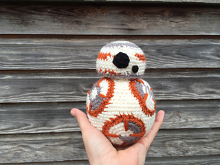 Geek Amigurumi Pattern : Bb u the force awakens crochet pattern u crochet