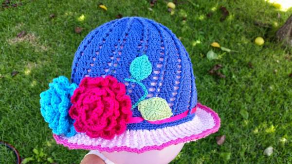 Free Pattern – Little Girls Cloche Hat – Crochet
