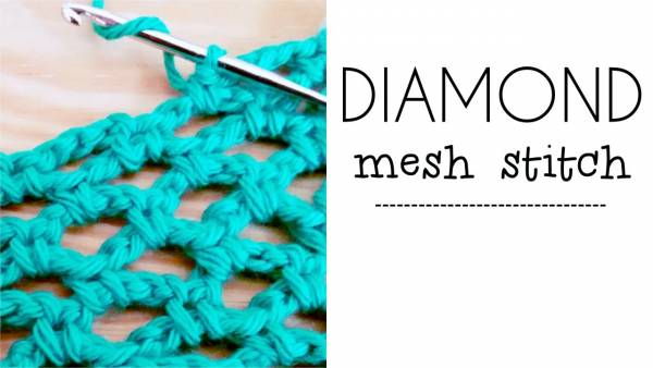 diamond-mesh-stitch