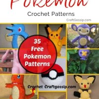 The Ultimate FREE Pokemon Crochet Patterns Over 35 Designs