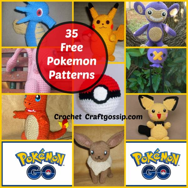 The Ulitimate FREE Pokemon Crochet Patterns Over 35 Designs – Crochet a8cda307802d4