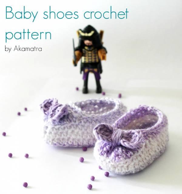 baby shoes free crochet pattern