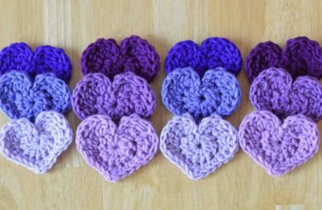 The Easiest Crochet Heart