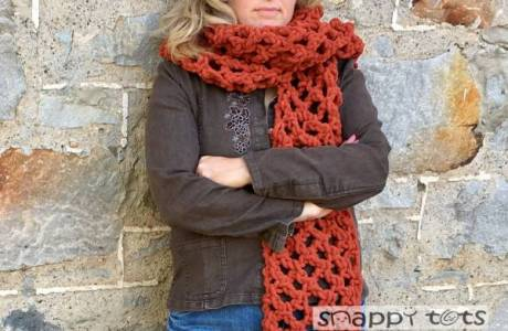 Light and Lofty Super Scarf