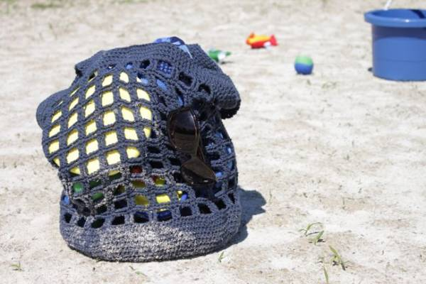 Summer Beach Tote Pattern