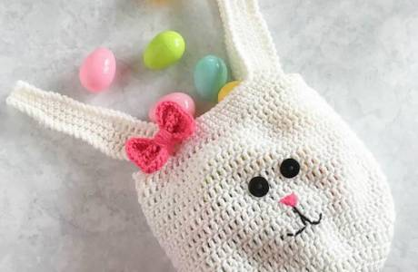 Easter Bunny Bag Crochet Pattern