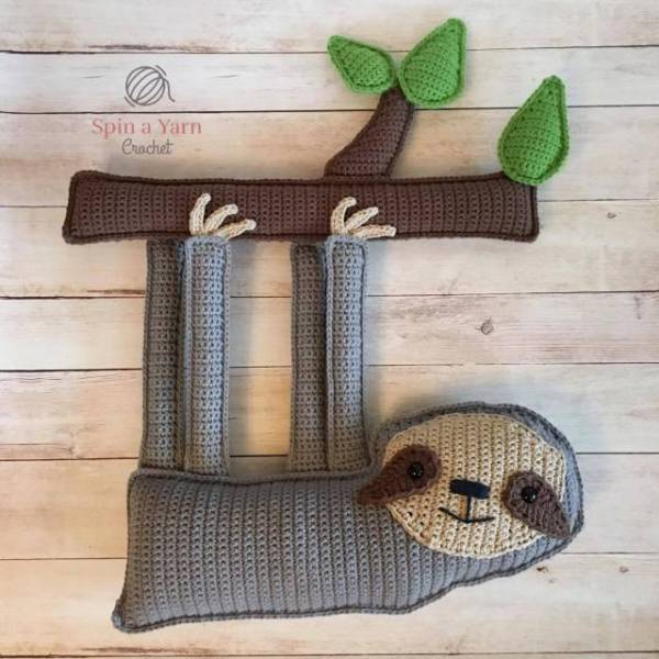 Adorable Ragdoll Sloth Crochet Pattern