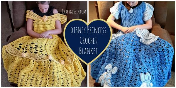 Disney Princess Crochet Lap Blanket Pattern – Crochet