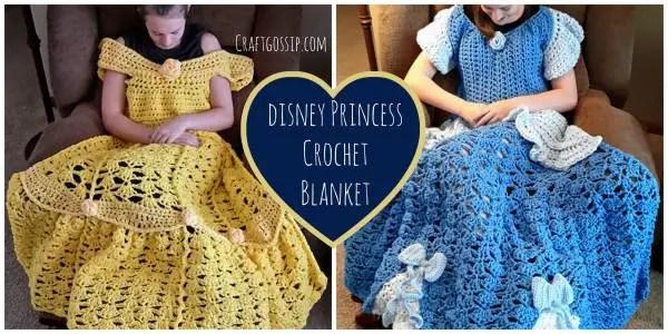 disney princess crochet lap blanket pattern crochet