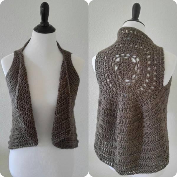 The Taylor Crochet Vest Pattern