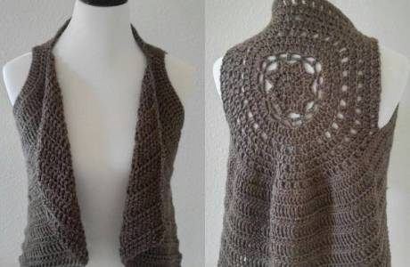 The Taylor Crochet Vest Pattern