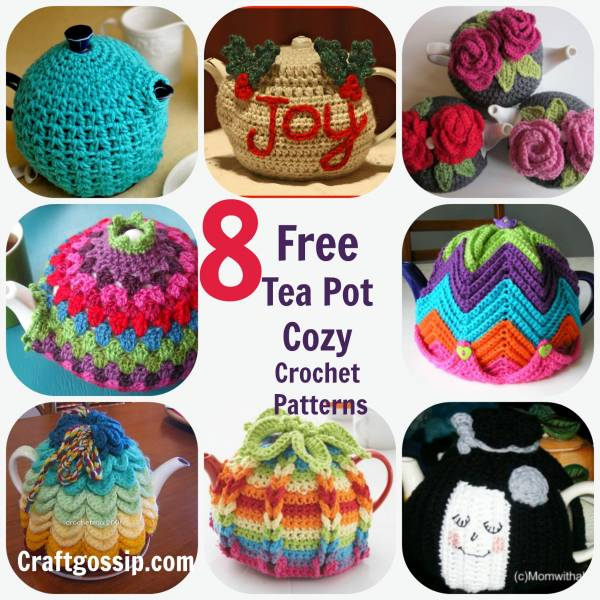 8 Crochet Tea Cozies Patterns