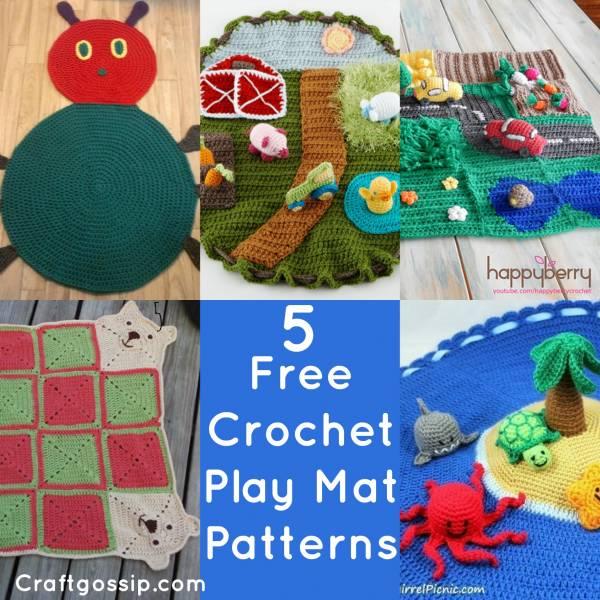 5 Crochet Play Mat Patterns You Can Make Crochet