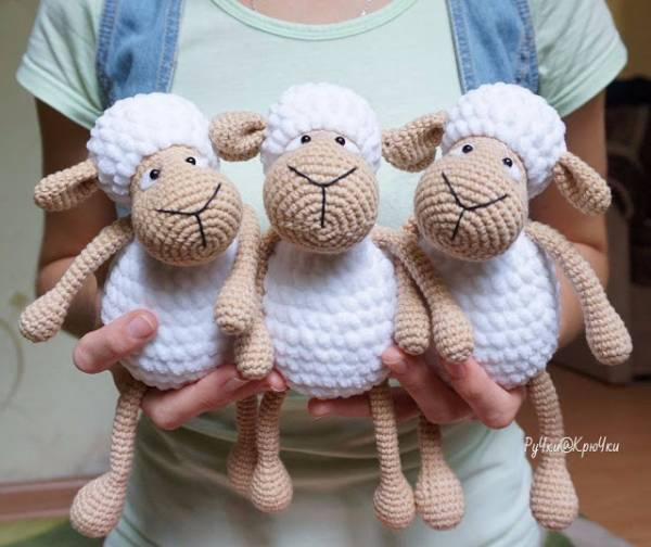Crochet Pattern Amigurumi Sheep