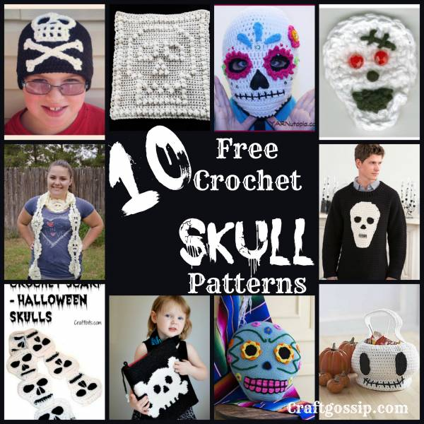 10 Crochet Skull Patterns Crochet