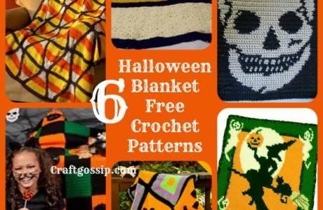 6 Halloween Afghan Crochet Blankets