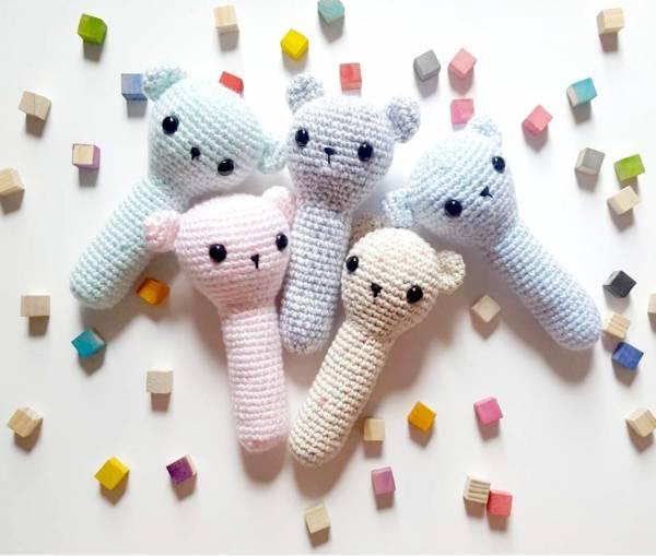 Crochet Baby Rattle Pattern