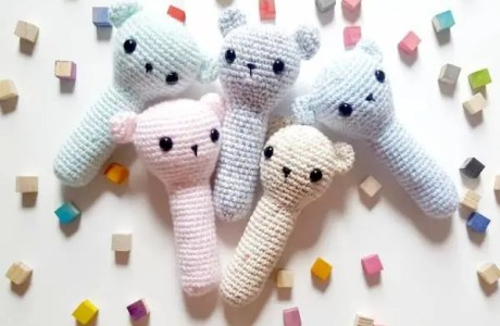 Crochet Baby Rattle Pattern