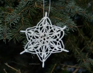 10 christmas snowflake crochet patterns crochet free crochet snowflake christmas tree ornament pattern dt1010fo