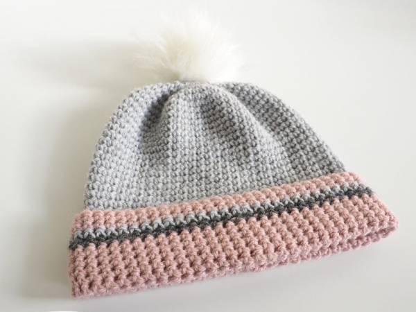 Pom Pom Beanie Crochet Pattern – Crochet