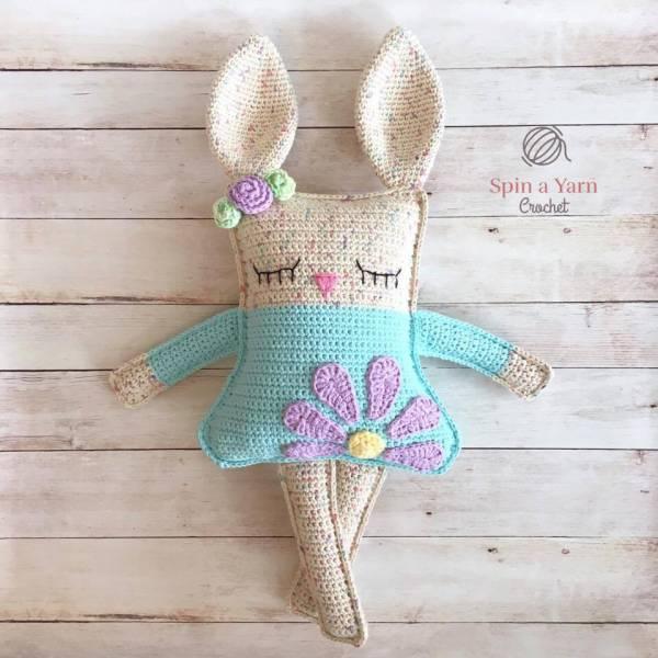 Free Crochet Pattern Ragdoll Bunny Crochet