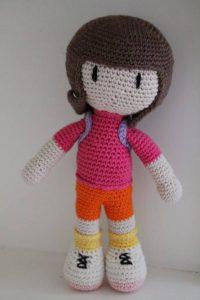 Dora The Explorer Free Crochet Pattern