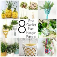Free Patterns-  Crochet Plant Hangers
