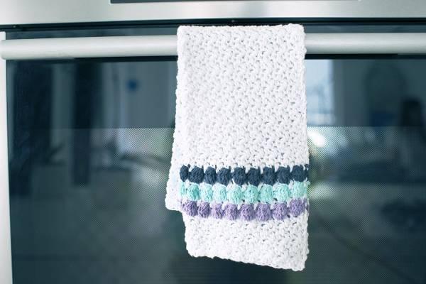Dish Cloth 100% Cotton by Kara Kawa | Green Elephant NZ | 400x600
