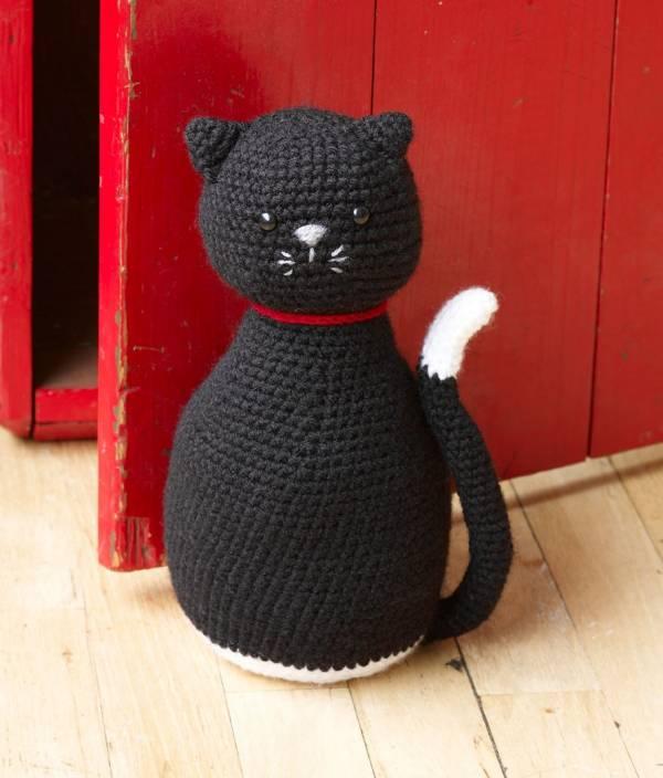 Crochet Amigurumi Black Cat - Free Patterns (mit Bildern) | Handarbeit | 704x600